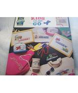 Kids On The Go Cross Stitch Chart - $4.00