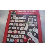 Favorite Sports Cross Stitch Chart - $3.00