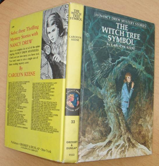 Nancy Drew 33 The Witch Tree Symbol 1978B-40 PC excellent