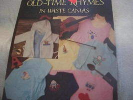 Old-Time Rhymes Cross Stitch Charts - $4.00