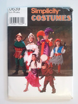 Simplicity 0639, Childs Costumes, Size 3, 4, 5, 6, 7, 8 - $4.95