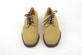 SALVATORE FERRAGAMO Beige Lace Up Shoes, UK 9.5 US 10.5 EU 43.5 - $109.84 CAD