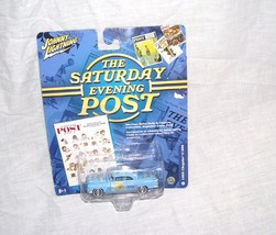 Johnny Lightning The Saturday Evening Post 1955 Chrysler C-300 Diecast NEW - $9.96