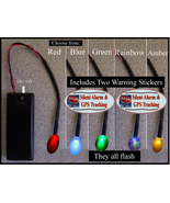 LED Flashing Simulated Auto Theft Deterrent / Car Alarm Light - $7.00