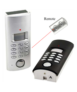 Solar Powered Motion Activated Alarm with Auto-dialer Keypad or Key Pad - $38.99