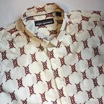 Reyn Spooner Button Front Short Sleeve Shirt Men's XXL Rope Sailing Knots - $24.72
