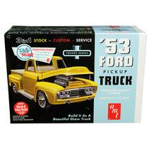 Skill 2 Model Kit 1953 Ford Pickup Truck Trophy Series 3 in 1 Kit 1/25 S... - $43.69