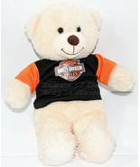 Build a Bear Workshop CREAM COLORED HARLEY DAVIDSON SHIRT Stuffed Plush ... - $17.66