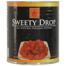 Sweety Drop Peruvian Peppers - 6 cans - 6.6 lbs ea - $378.38