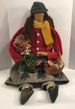 Mary Christmas Doll 1997 Pig Pen Hill Elaine Russell 2002 American Folk ... - $290.07