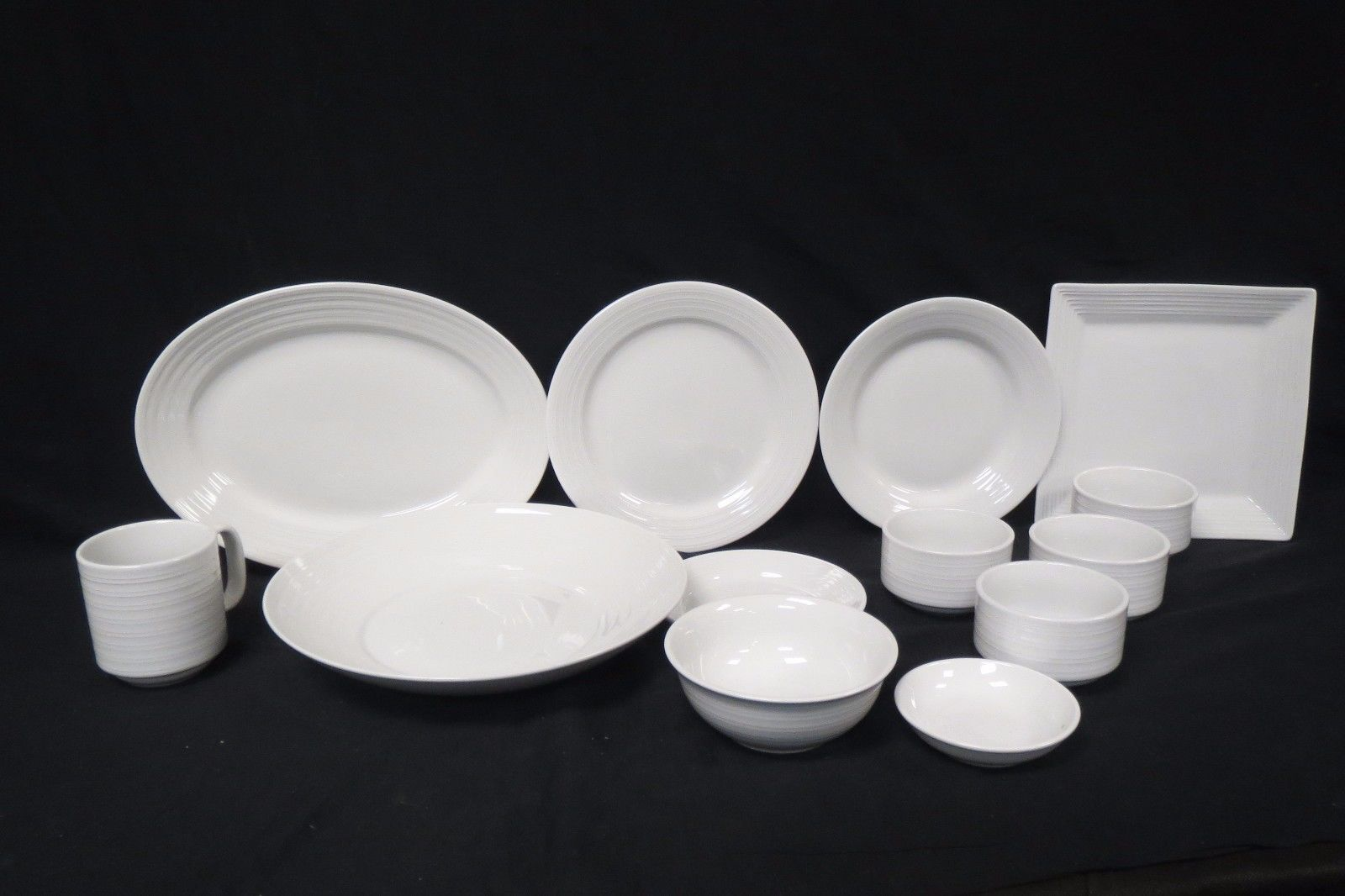 S l1600 & Tuxton White Dishes Lot Of 12 Pieces and 50 similar items