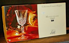 Collections Cristal d'Arques Masquerade Set of 4 Goblets AA19-CD0047 Vintage image 8