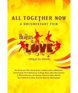 The Beatles Love ALL TOGETHER NOW A Documentary Film (DVD 2008) BRAND NEW - $13.97