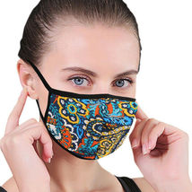 Women's Floral Reusable Face Cover Cloth Protection Mask Handmade USA Lot of 6 image 7