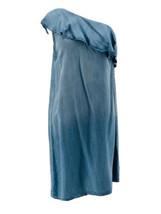 Mossimo Women's Denim Chambray One Shoulder Dress Size XS - $14.85