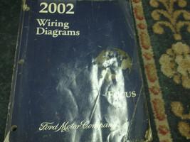 2002 02 Ford FOCUS Electrical Wiring Diagram EWD Service Shop Repair Man... - $17.77