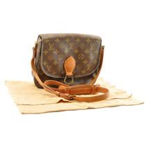 LOUIS VUITTON Monogram Saint Cloud GM Shoulder Bag M51242 LV Auth 8363 - $398.00