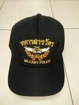 Military Police Royal Thai Air Force Cap Ball Soldier Military Rtaf Cap Bid - $14.89