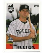 1996 Topps Colorado Rockies Team Set with Todd Helton - $1.89