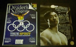 Yang Wei Gymnastics Olympics magazine cover and 2 clippings Reader's Dig... - $7.70