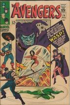 Avengers #26 ORIGINAL Vintage 1966 Marvel Comics Wasp Scarlet Witch - $89.09