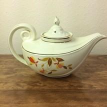 Vintage Hall Superior Jewel Tea Autumn Leaf Aladdin Teapot Lid and Infuser - $23.36