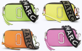 Marc Jacobs Fluorescent Strap Snapshot Small Camera Bag M0014503 - $298.75