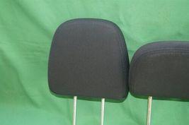 11-15 Dodge Journey 2nd Row Black Cloth 3 Headrests Headrest w/ Cupholder image 4
