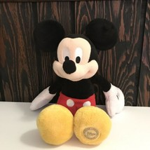 "Disney Store Mickey Mouse Plush Stuffed Animal 13"" - $24.74"