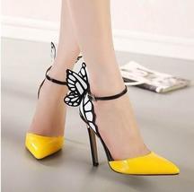 European Women Plus size 36-41 personality wedding high heels woman Colorful but