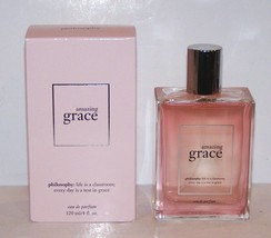 Lovely Philosophy Amazing Grace Eau De Parfum 4 Fl OZ/120 Ml Spray In Box - $46.52