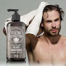 Best Deal Beard Conditioner w/Argan & Jojoba Oils - Softens & Strengthens - Natu image 2