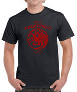 084 House Targaryen mens T-shirt dragon sigil thrones fire vintage retro - $15.00 - $19.00