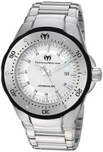 Technomarine TM-215093 'Sea Manta' Automatic Silver Stainless Steel Men'... - $346.49