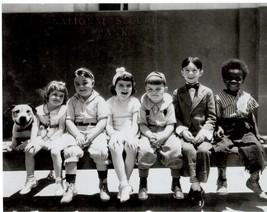Little Rascals Bench  Vintage 11X14 BW Comedy TV Memorabilia Photo - $12.95