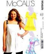 McCalls sewing pattern 5626 misses tunic top size 14-16-18-20 uncut - $14.70