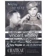 VINCENT WHITLEY, NIC,, TONY ROYSTER JR. @ CHATEAU Nightclub Las Vegas Pr... - $1.95