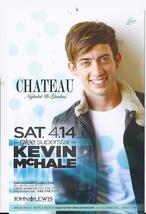 Kevin Mchale @ Chateau Las Vegas Promo Card - $1.95