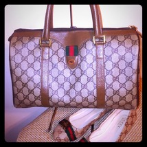 Vintage Gucci Boston style/ Doctor's bag  - $350.00