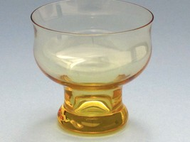 Lenox  Amber finger bowl Crystal  Made in USA Mt Pleasant PA - $15.89