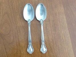 "2 Gorham CHANTILLY Sterling Silver Teaspoon Spoon 5 3/4"" NO Monogram - $59.00"