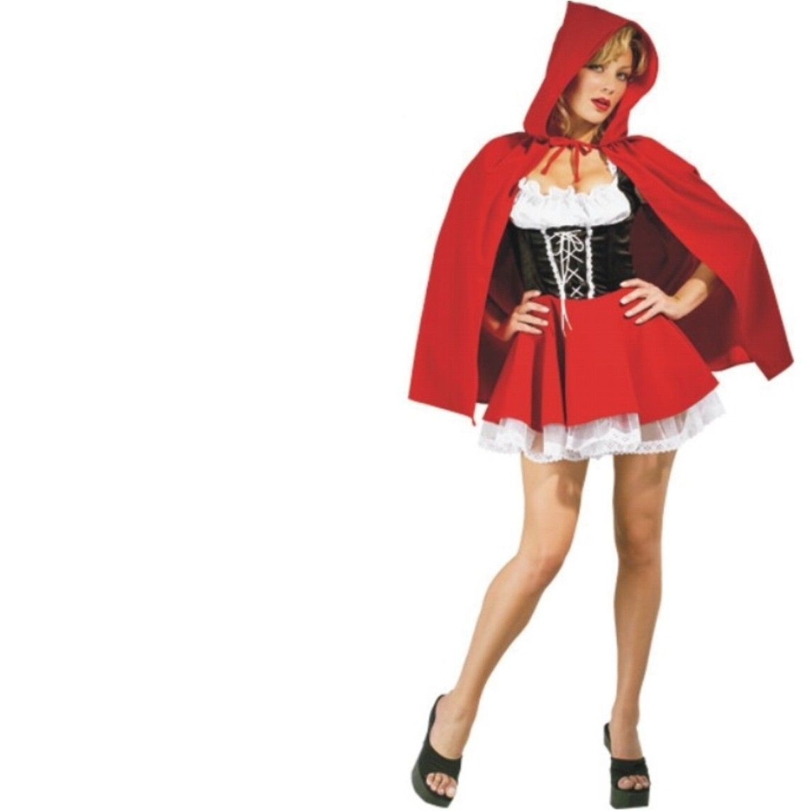 Costume - Adult Secret Wishes - Little Red Riding Hood - Extra Small - Sexy XS