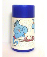 Disney Aladdin Genie Thermos for Back to School Lunchbox Blue Complete L... - $10.90
