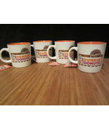 4 New Dunkin Donuts Bakery Series Collection Ceramic Coffee Mug Cup 12 o... - $19.99