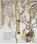 Chief Joseph Perce Prayer Vintage 8x10 Color Native American Memorabilia... - $4.99