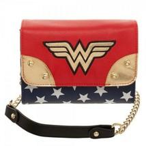 Wonder Woman Movie JRS Sidekick Purse Handbag Red - $39.98