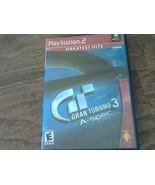 Gran Turismo 3 A-Spec Sony Playstation 2 (2001) - $7.00