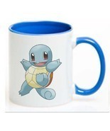 Pokemon  SQUIRTLE Ceramic Coffee Mug CUP 11oz - $18.64 CAD