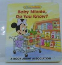Baby Minnie, Do You know? [Hardcover] by Disney - $3.95