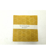 Mulberry Tissue Paper Mustard White Crimson Gift wrap Package wrap Paper... - $8.99